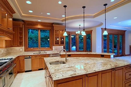 Kitchen For Upscale Sunriver Homes Page In Oregon