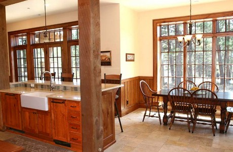 family is the center of culture for this bend oregon lodge home