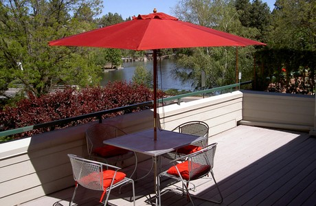 Riverfront condo in Bend Oregon offered by Sandy Kohlmoos at just $349,000