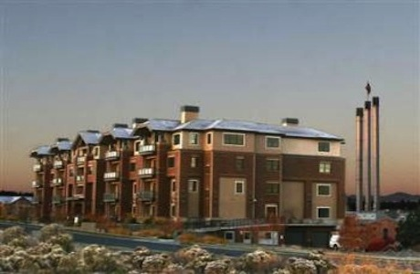 The Plaza condos . . . the Heart of the Old Mill in Bend Oregon