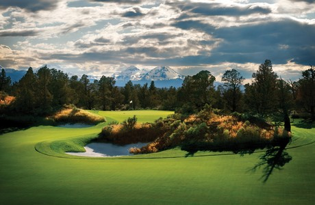 Magnificent golf at Pronghorn; lsiting agnecy is Cascade Sotheby's