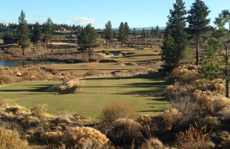 The golf season ends in Bend . . . Tetherow Club