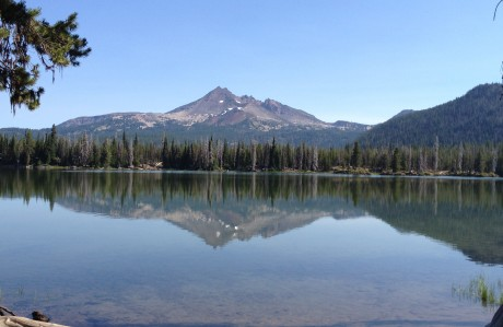 Sparks Lake . . . realtor Sandy Kohlmoos