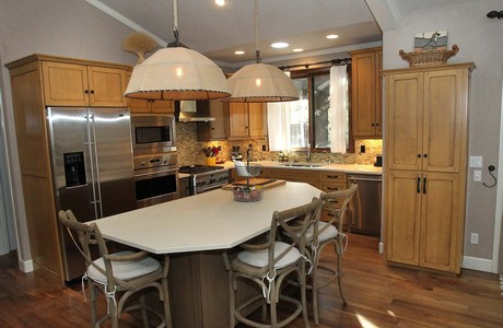 Kitchen has been completely remodeled