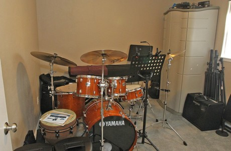 Room for your drums!