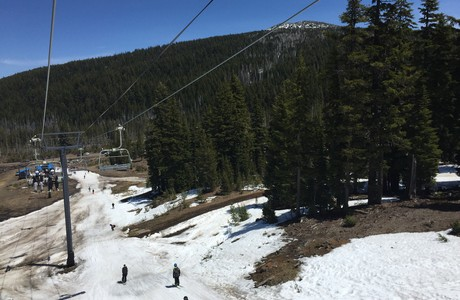 Mt. Bachelor's earliest closing in 20 years . . . May 10